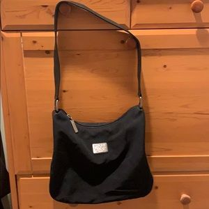 Donna Karan black pocket book. Shoulder bag